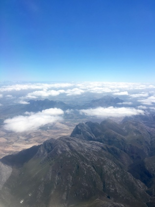 Somewhere over South Africa