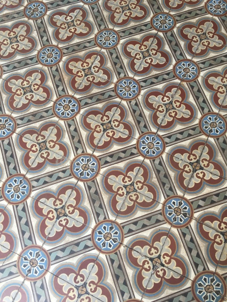 Beautiful Italian tiles at Domaine des Aubineaux #Mauritius Things to do in Mauritius Cultural visits in Mauritius #Ilemaurice