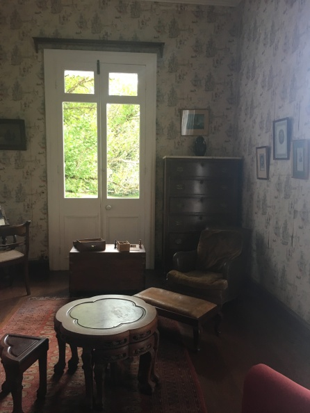 The Major's smoking room at Domaine des Aubinaux in Curepipe, #Mauritius