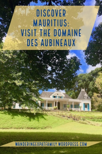 Domaine des Aubineaux, Curepipe Mauritius - 1step of the Tea Route in Mauritius