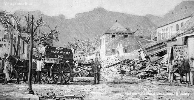 Port-Louis-Cyclone-1892-Collect-of-Clothes-for-Victims