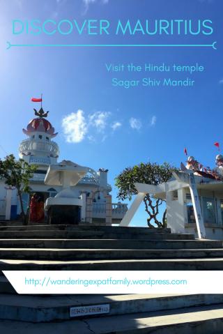 Hindu Temple in Mauritius - Sagar Shiv Mandir in Poste de Flacq