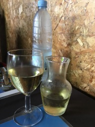 Wine of the house - Chez Ti Fred, Grand Anse, Reunion Island