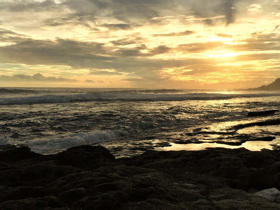 Sunset views of Beach of Grand Anse, Reunion Island - Things to do in Reunion Island