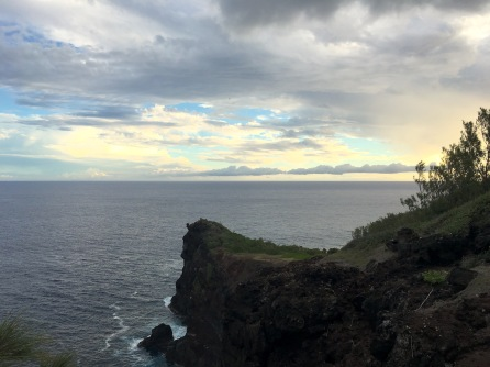 View of Pointe August - Hike of Piton de Grand Anse with Kiddos 1 Things to do in Reunion Island #reunionisland #reunion #hike #nature #