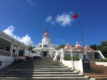 Hindu Temple in Mauritius. Sagar Shiv Mandir in Poste de Flacq