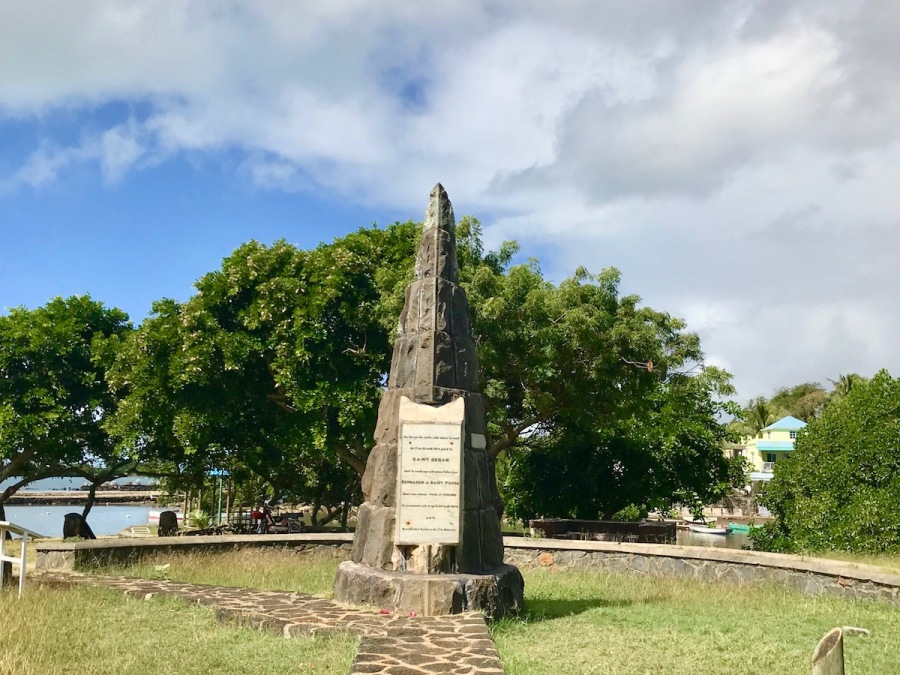 Monument St Geran - La Poudre d'Or - Things to do in Mauritius - Learn about the story of Paul and Virginie on Wandering Expat Family, a Mauritius Travel Blog