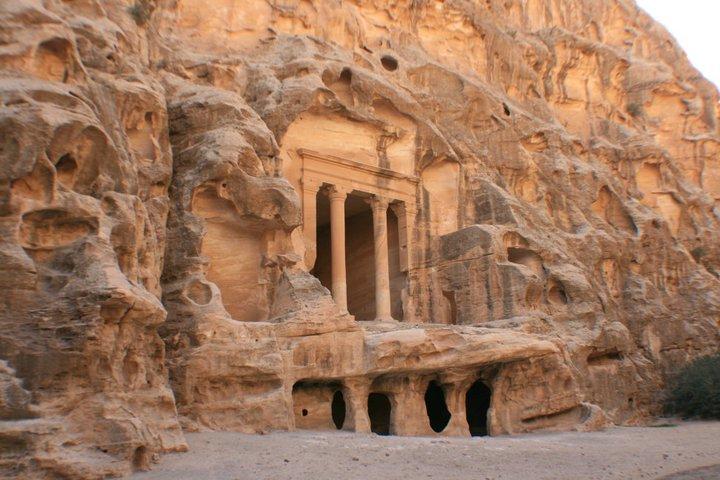 Treasury of Al-Beidha, Little Petra, Jordan