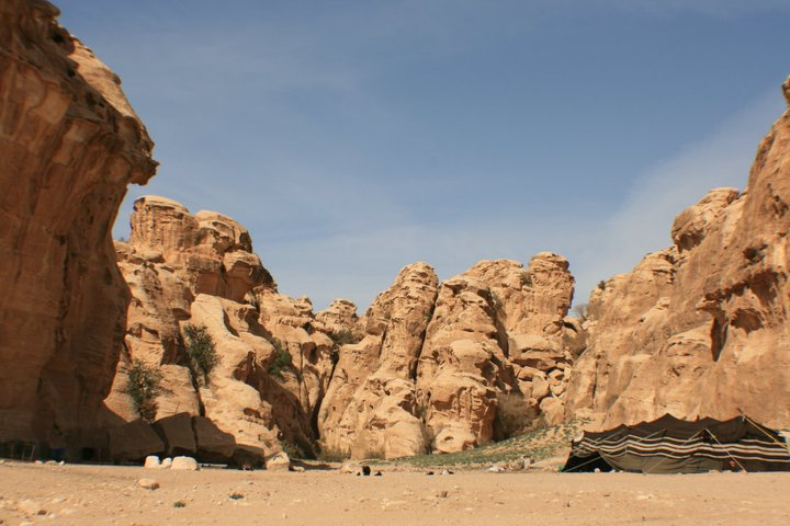 Entrance to Al-Beidha, Little Petra, Jordan