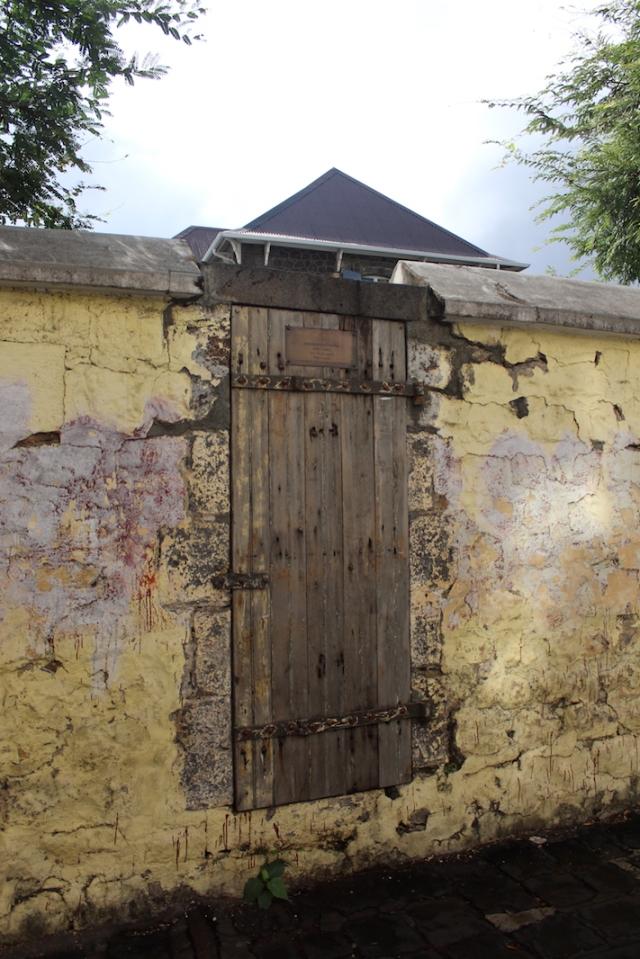The Slave Door, Port Louis, Mauritius
