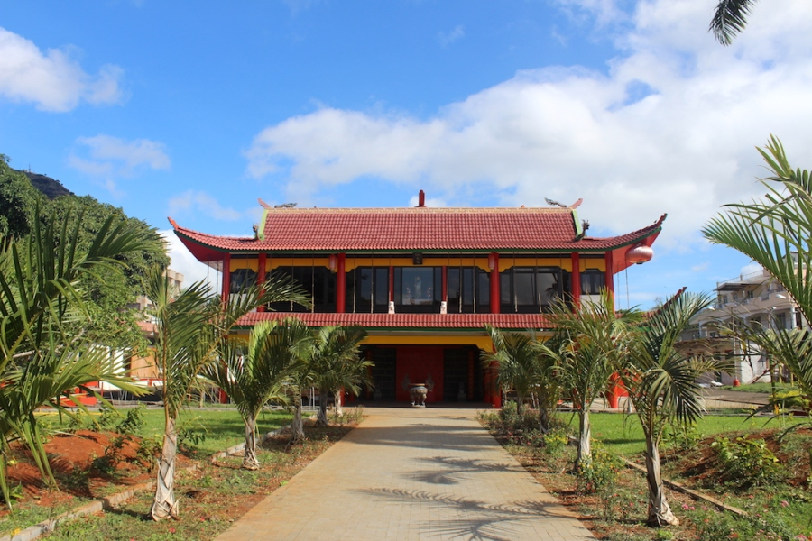 Chinese pagoda in Port Louis, Mauritius - Chinese Heritage