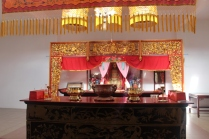 Shrine at Nam Shun Fooy Koon Pagodas in Port Louis, Mauritius #Mauritius #ilemaurice things to do in Mauritius things to do in Port Louis cultural visits in Mauritius Chinese temple in Port Louis Chinese temple in Mauritius