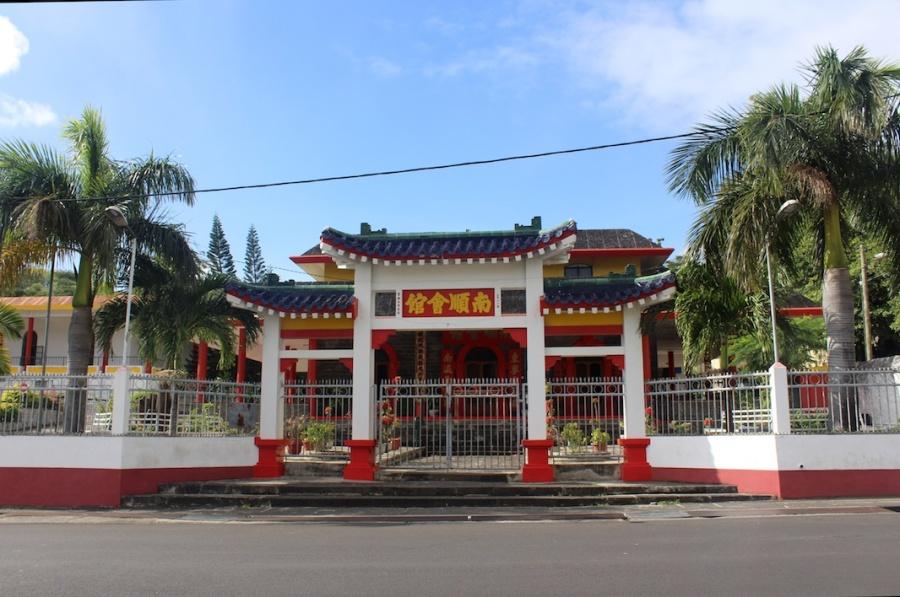 Nam Shun Fooy Koon Pagodas in Port Louis, Mauritius