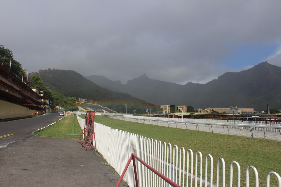 View of Champs de Mars in Port Louis - Horse racing track in Port Louis, Mauritius