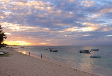 Sunset, Pointe aux Cannoniers, Mauritius