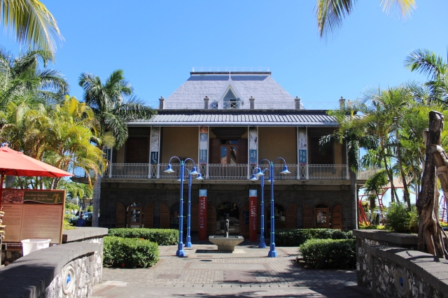 Blue Penny Museum in Port Louis