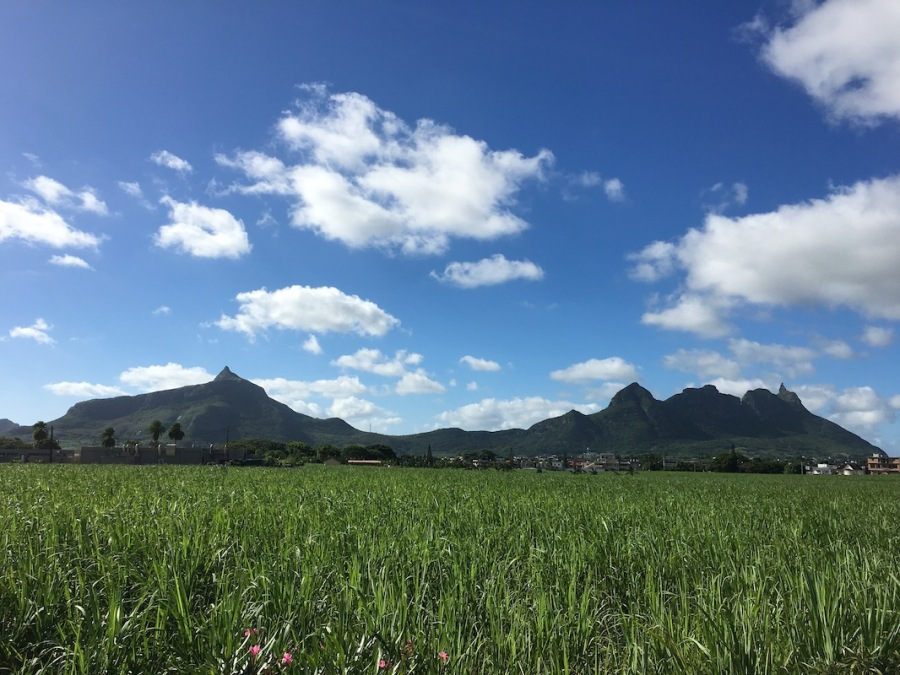 View of Moka Range - Mountains in Mauritius - Hiking le Pouce