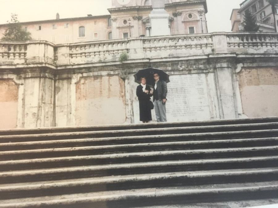 Spanish Steps 1980's