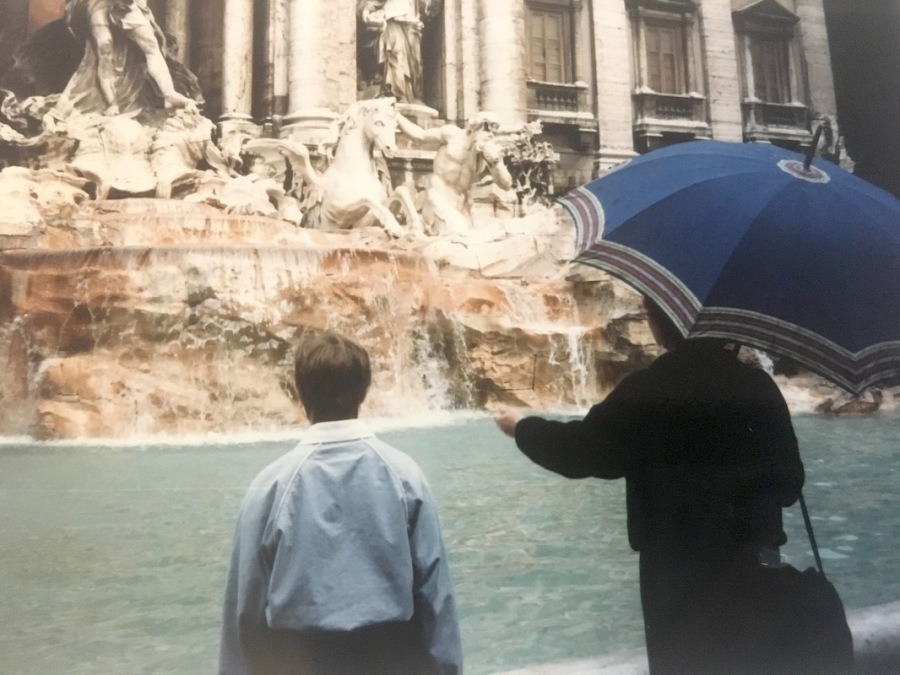 Trevi Fountain, 1980's