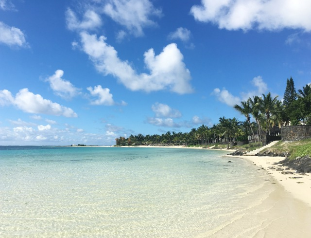 Beach in Belle Mare, The Residence, Mauritius