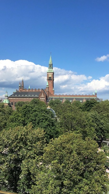 The Town Hall of Copenhagen
