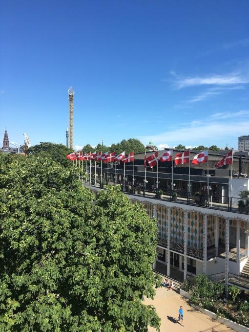 Tivoli Gardens, view from the balloon ride