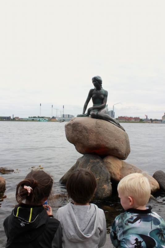 The Little Mermaid, Langelinie, Copenhagen