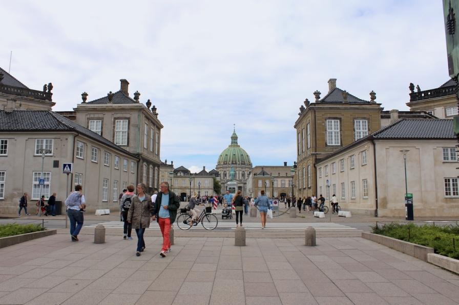 Amalienborg, Amalienhaven, København