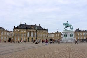 Amalienborg Castle, Copenhagen