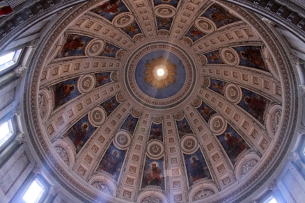 The Marble Church - View of the Dome