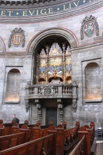 Organ, the Marble Church, Copenhagen