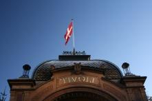 Main Entrance to Tivoli gardens, Copenhagen