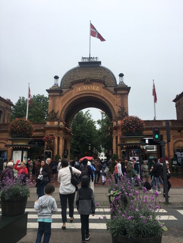 Main Entrance to Tivoli Gardens, Copenhagen