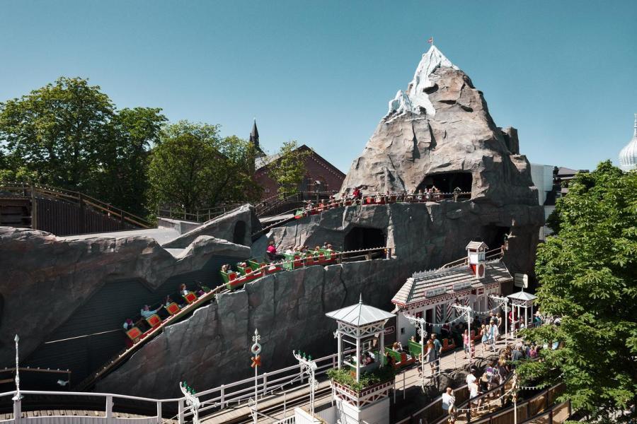 The Roller Coaster, Tivoli, Copenhagen