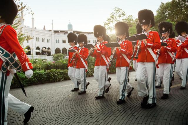 Tivoli Gardens, Tivoli Youth Guard, Copenhagen