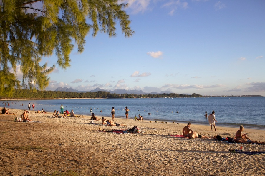 One of the best beaches in Mauritius: Mont Choisy Beach