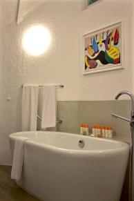 View of Bathroom, La Pirogue Mauritius