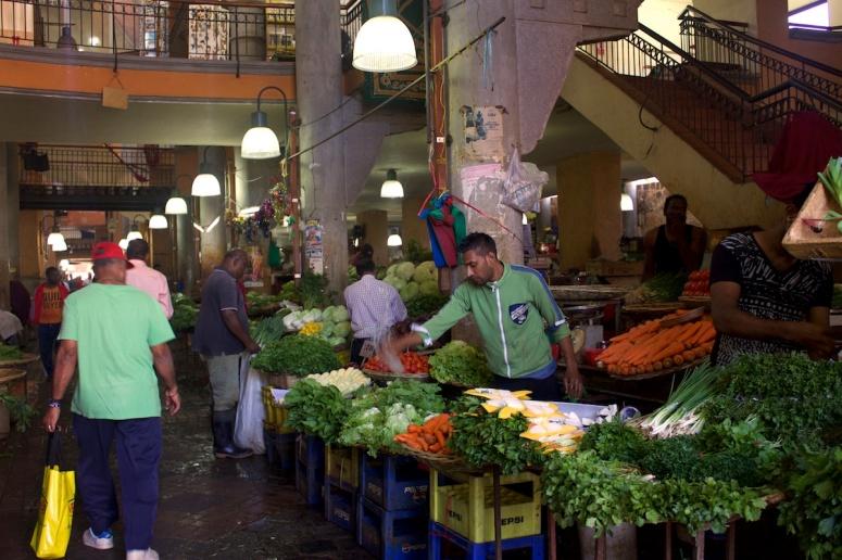 The Bazar at Port Louis - Mauritius oldest market
