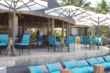 Le Morne Bar, one of the many F&B outlets at la Pirogue Hotel, Mauritius