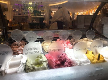 Amazing tasting ice creams at Harrods!