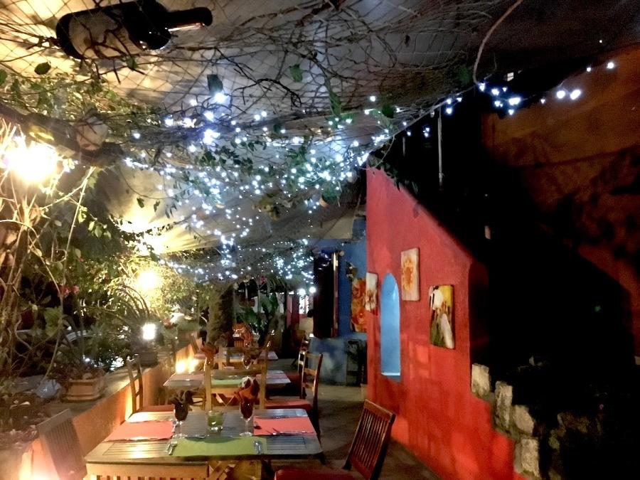 Italian restaurant in Trou aux Biches