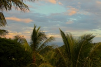 Sunset view, Palm Hotel & Spa, Reunion Island