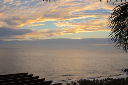 Sunset view, Palm Hotel, Reunion Island - Indian Ocean