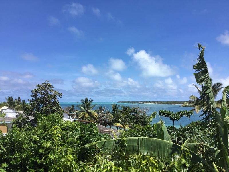 View from Chez Tino Restaurant, Trou d'Eau Douce