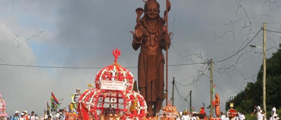 Ganga Talao for Maha Shivaratri, Mauritius