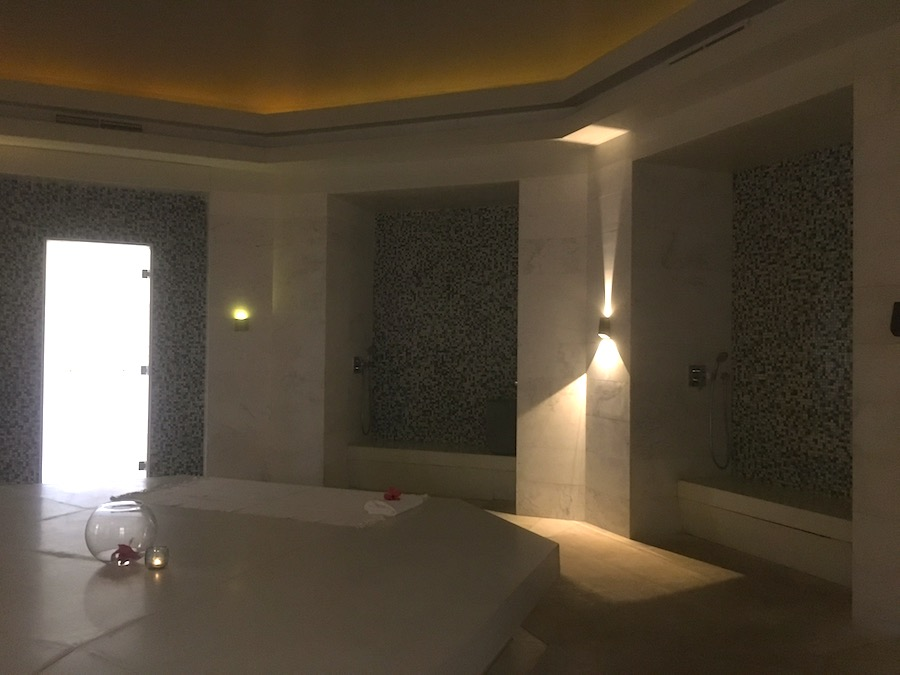 View of the Luxurious Hammam at Cinq Mondes Spa, LongBeach Mauritius