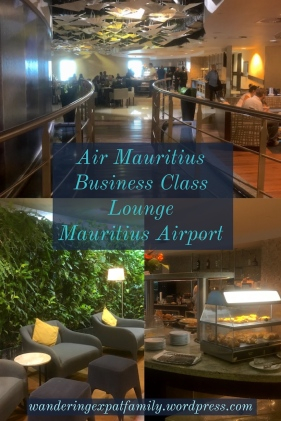 Air Mauritius Lounge at the International Airport in Mauritius