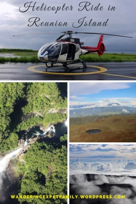 Several pictures from our helicopter ride in Reunion Island