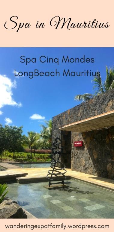 Spa Cinq Mondes, LongBeach Mauritius