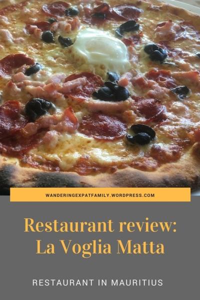 Pin Picture for the Pizza Restaurant LA Voglia Matta in Trou aux Biches, Mauritius